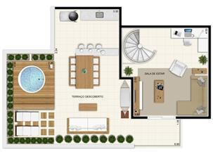 Planta Superior Duplex 132 m² | Novo Sttilo Home Club – Apartamento na  Nova Parnamirim - Parnamirim - Rio Grande do Norte