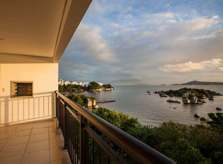 Vista | Visionnaire – Apartamentono  Abraão - Florianópolis - Santa Catarina