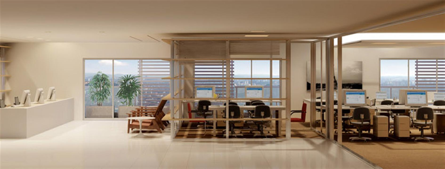 Office | Nasa Business Style – Salas Comerciaisno  Setor Marista - Goiânia - Goiás