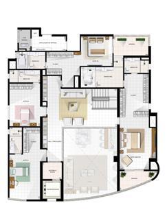 Duplex Superior | Diamond LifeStyle – Apartamento no  Jardim Goiás - Goiânia - Goiás