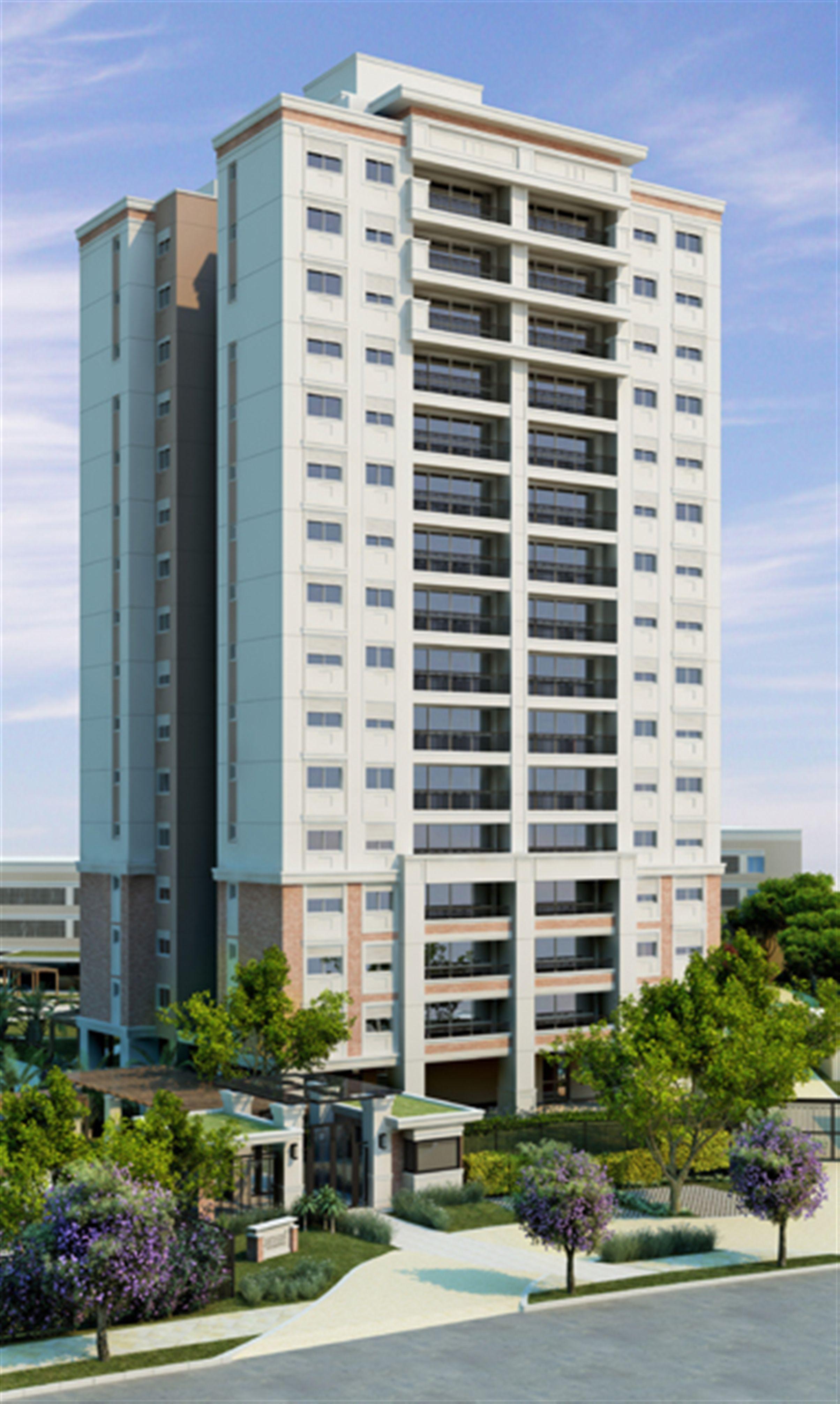 Fachada | Jardins Novo Higienópolis – Apartamentono  Higienópolis - Porto Alegre - Rio Grande do Sul