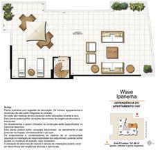 Dependência Cobertura 1401 | Wave Ipanema – Apartamento em  Ipanema - Rio de Janeiro - Rio de Janeiro
