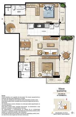 Apartamento Cobertura 1402 | Wave Ipanema – Apartamento em  Ipanema - Rio de Janeiro - Rio de Janeiro