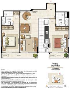 Apartamento Cobertura 1403 | Wave Ipanema – Apartamento em  Ipanema - Rio de Janeiro - Rio de Janeiro