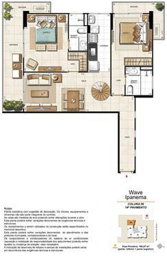 Apartamento Cobertura 1406 | Wave Ipanema – Apartamento em  Ipanema - Rio de Janeiro - Rio de Janeiro