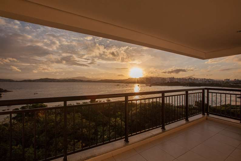 Vista | Vitamare – Apartamentono  Abraão - Florianópolis - Santa Catarina