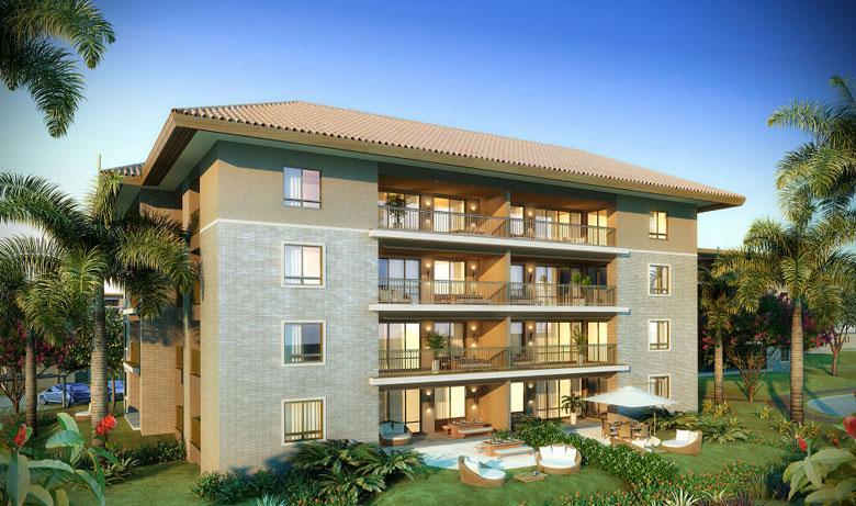 Fachada | Mandara Kauai – Apartamentono  Porto das Dunas - Aquiraz - Ceará