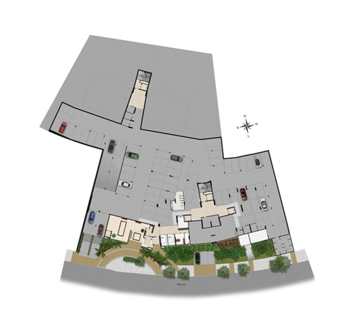 Implantação subsolo | Chateau Marista LifeStyle – Apartamento no  Setor Marista - Goiânia - Goiás