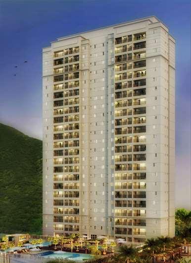 Fachada | Way Orquidário – Apartamentono  Orquidário - Santos - São Paulo