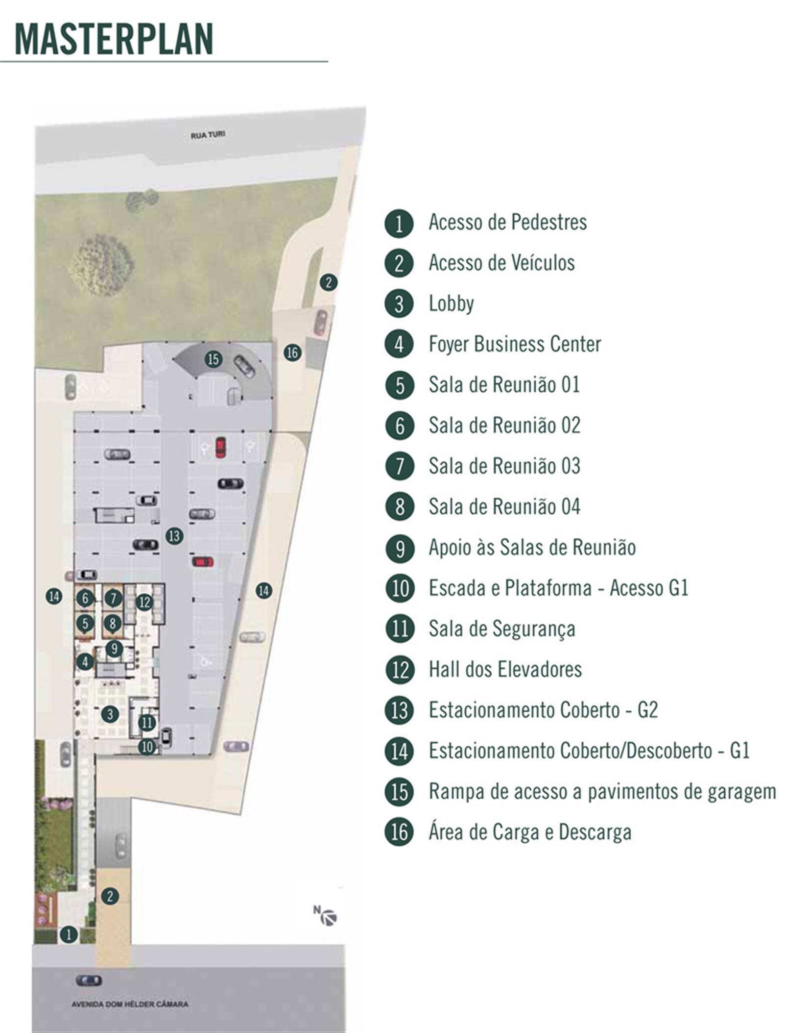 Planta | DHC Offices – Salas Comerciaisem  Pilares - Rio de Janeiro - Rio de Janeiro