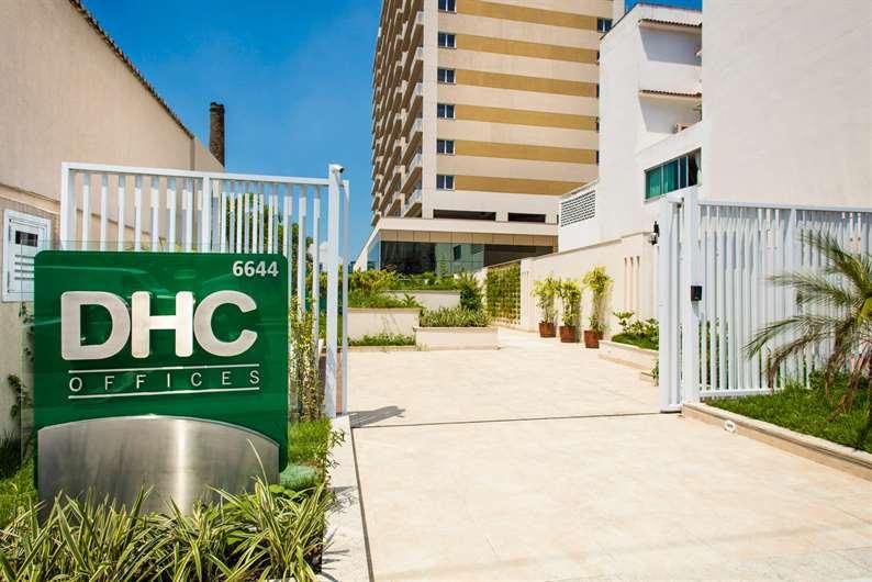 Entrada | DHC Offices – Salas Comerciaisem  Pilares - Rio de Janeiro - Rio de Janeiro