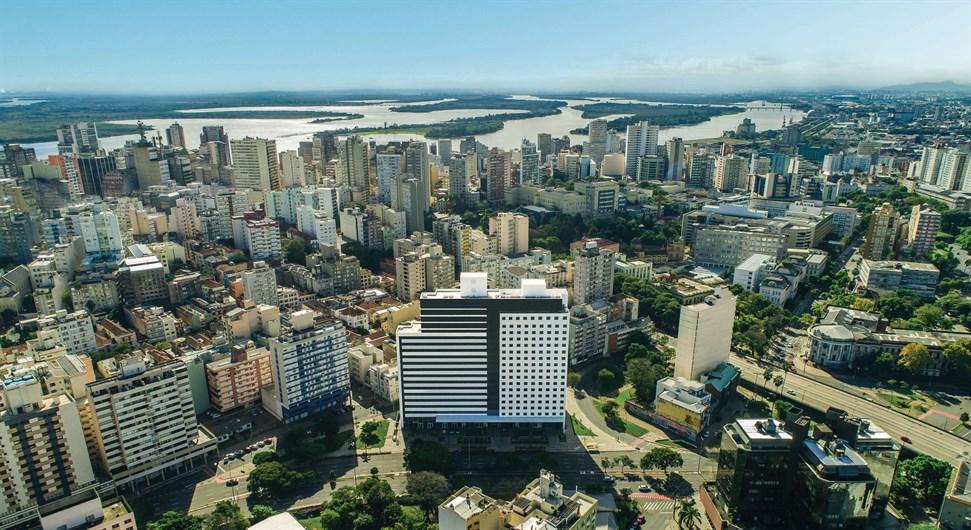 Fachada | Duo Concept Hotel – Hotel  Próximo ao Centro - Porto Alegre - Rio Grande do Sul
