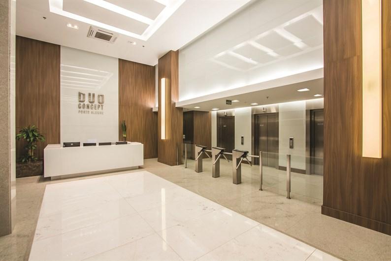 Área Comum | Duo Concept Office  – Salas Comerciaisna  Cidade Baixa - Porto Alegre - Rio Grande do Sul