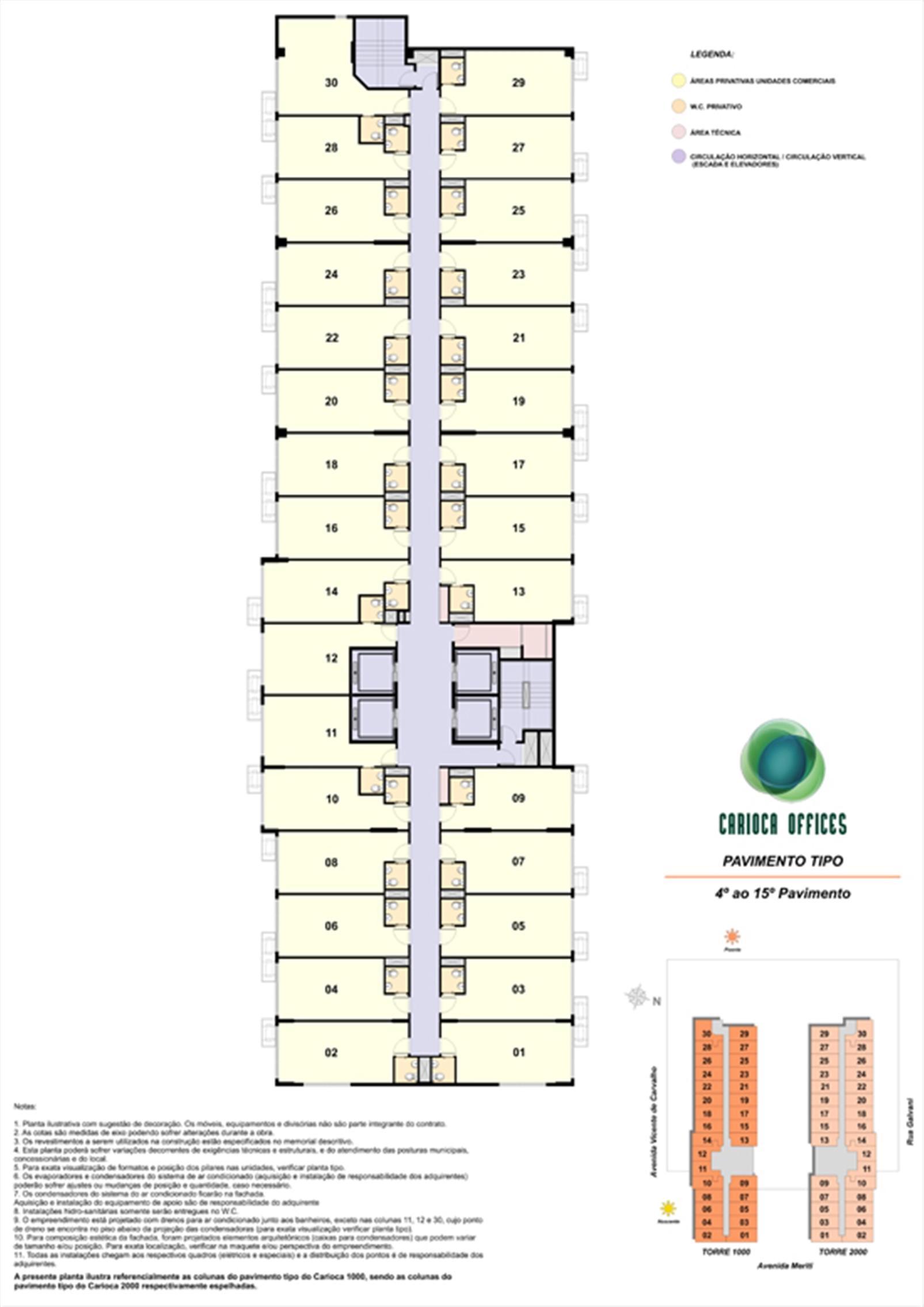 Tipo Seco | Carioca Offices – Salas Comerciaisna  Vila da Penha - Rio de Janeiro - Rio de Janeiro