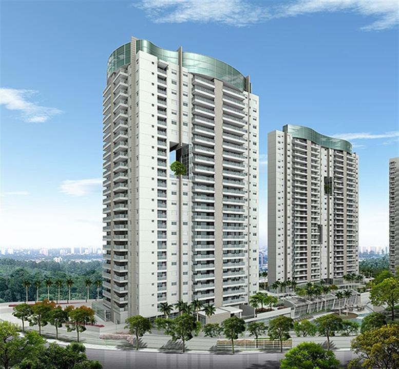 Fachada | Ventana – Apartamentono  Panamby - São Paulo - São Paulo