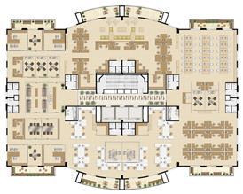 Planta laje única   1.000 m² (Torre Sky Tower) | Villa Lobos Office Park – Apartamento no  Alto de Pinheiros - São Paulo - São Paulo