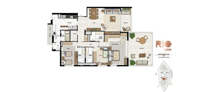 Apartamento 1901 - Bay
