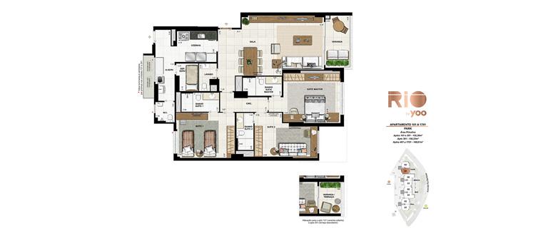 Apartamentos 101 a 1701 - Park