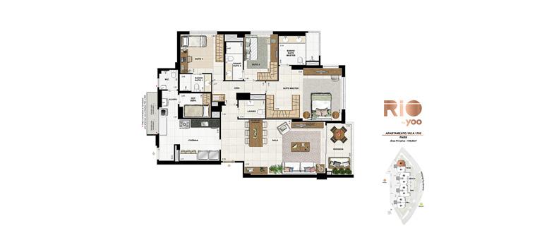 Apartamentos 102 a 1702 - Park